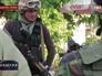 Украинские военные в Донецкой области