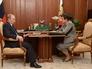 Владимир Путин и губернатор Владимирской области Светлана Орлова во время встречи