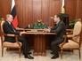 Владимир Путин и министр связи и массовых коммуникаций РФ Николай Никифоров