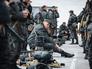 Бойцы украинской армии