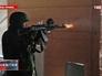 Бойцы Нацгвардии Украины ведут огонь