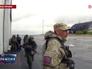 Бойцы народного ополчения Новороссии в Донецком аэропорту
