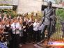 Открытие памятника режиссеру Евгению Вахтангову