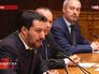 "Лидер итальянской партии ""Лига Севера"" депутат Европарламента Матто Сальвини"