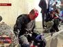 Пострадавший в столкновениях с радикалами украинский милиционер