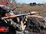 Бойцы народного ополчения держат оборону Донецка