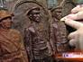 Скульпторы трудятся над новым памятником маршалу Жукову