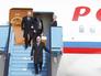 Владимир Путин прилетел в Белград
