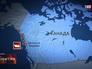 Российский сухогруз у берегов Канады