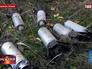 Применение Украинской армией кассетных бомб в Донецкой области