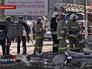 Пожарные на месте взрыва газа в доме в Липецкой области