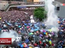 Уличные протесты в Гонконге