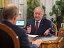 Президент России Владимир Путин и Губернатор Камчатского края Владимир Илюхин
