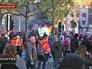 Уличные протесты в Брюсселе
