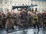 Историческая реконструкция в честь годовщины парада на Красной площади 7 ноября 1941 года