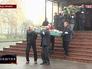 Похороны погибших при обстреле Донецка