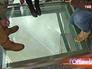 Стеклянный пол на Останкинской телебашне