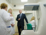 Сергей Собянин беседует с врачами поликлиники