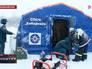 Снегопад в Хабаровском крае