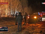 Экстренные службы на месте крушения вертолета в Нижегородской области