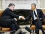 Президент США Барак Обама и президент Украины Пётр Порошенко