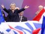 """Лидер французской партии """"Национальный фронт"""" Марин Ле Пен"""