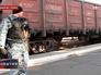 Железнодорожные вагоны с обломками малайзийского Boeing