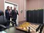 Президент России Владимир Путин и президент ФИДЕ Кирсан Илюмжинов