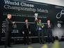 Церемония награждения чемпиона мира по шахматам в Сочи