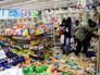 Мародеры в одном из магазинов Фергюсона