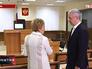 Мэр Москвы Сергей Собянин осматривает новое помещение здания суда