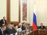 Заседание правительства России