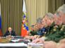 Президент России Владимир Путин проводит совещание по гособоронзаказу