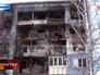 Последствия обстрела жилых кварталов в Первомайске