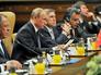 Президент России Владимир Путин на заседании Совета сотрудничества высшего уровня между Россией и Турцией