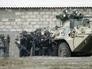 Спецподразделение во время тактико-специальных учений по ликвидации последствий чрезвычайных ситуаций террорестического характера