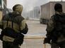 Военнослужащие подразделения специального назначения МВД Чеченской республики во время проведения спецоперации