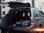 Машина с изъятой черной икрой