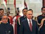 Президент Росии Владимир Путин во время официальной встречи с Президентом Индии Пранабом Мукерджи