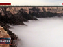 Редкое природное явление в Гранд-Каньоне