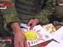 Ополченцы Донбасса получили детские письма