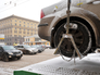 Эвакуация неправильно припаркованного автомобиля