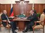 Президент России Владимир Путин провёл рабочую встречу с президентом Торгово-промышленной палаты России Сергеем Катыриным