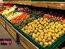Овощной отдел в магазине