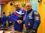 Международный экипаж МКС россиянин Михаил Корниенко и американец Скотт Келли
