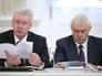 Мэр Москвы Сергей Собянин и губернатор Петербурга Георгий Полтавченко