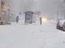 Снегопад и метель в Москве