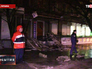 На месте взрыва в Киеве