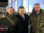 Пётр Порошенко с военнослужащими
