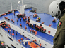 Спасательная операция на горящем пароме Norman Atlantic